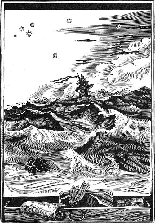 Надо думать, что сама природа и судьба предназначили меня к деятельной и беспокойной жизни, потому что через два месяца после возвращения домой, 20 июля 1702 года, я снова оставил отечество и сел в Даунсе на корабль Адвенчер...