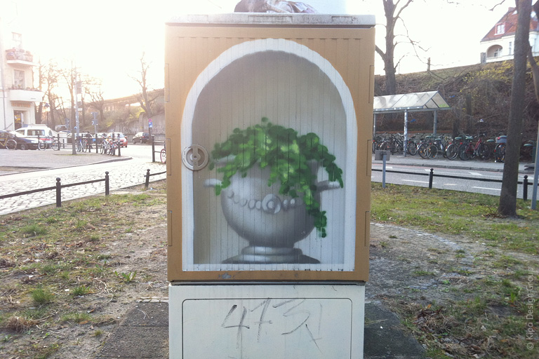 Потсдамские уличные электрошкафы